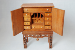 209. Veneered Chinese Cabinet